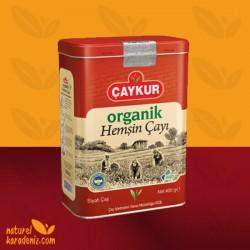 Çaykur Organik Hemşin 400 gr Dökme Çay (Teneke Kutu)